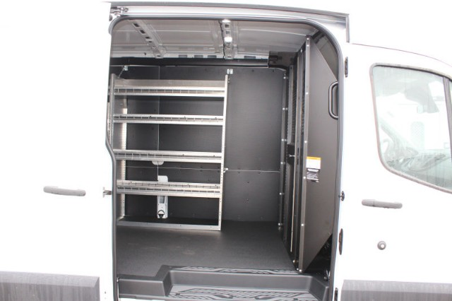 2018 Transit 350 Med Roof 4x2,  Masterack Upfitted Cargo Van #CF8216 - photo 9
