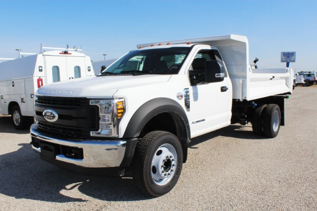 2019 F-450 Regular Cab DRW 4x2,  Knapheide Drop Side Dump Body #CF9122 - photo 1