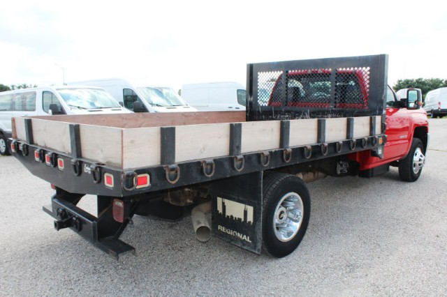 2015 Silverado 3500 Regular Cab DRW 4x2,  Platform Body #CFX131 - photo 4