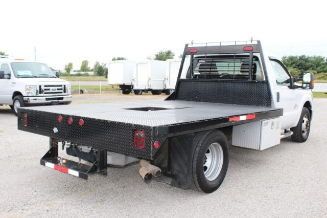 2012 F-350 Regular Cab DRW 4x2,  Platform Body #CFX136 - photo 2