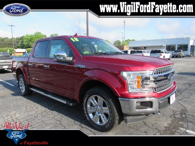 2018 F-150 SuperCrew Cab 4x4,  Pickup #K7075 - photo 1