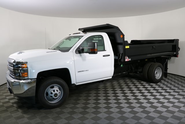 2018 Silverado 3500 Regular Cab DRW 4x4,  Monroe Dump Body #F8035 - photo 3