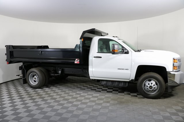 2018 Silverado 3500 Regular Cab DRW 4x4,  Monroe Dump Body #F8035 - photo 5