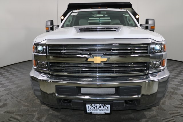 2018 Silverado 3500 Regular Cab DRW 4x4,  Monroe Dump Body #F8036 - photo 5