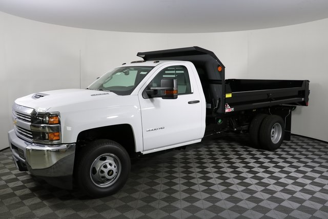 2018 Silverado 3500 Regular Cab DRW 4x4,  Monroe Dump Body #F8038 - photo 3