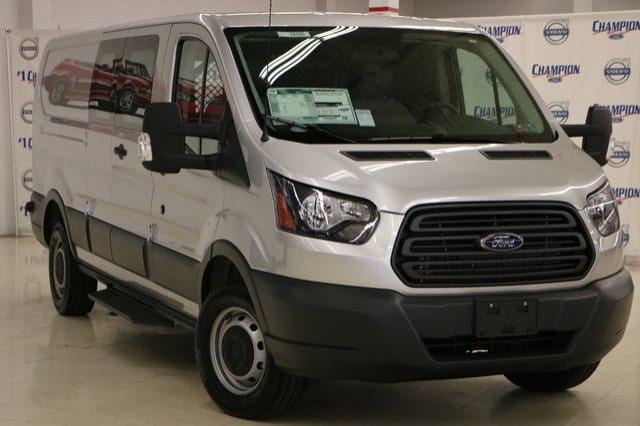 2018 Transit 250 Low Roof 4x2,  Upfitted Cargo Van #F8535 - photo 1