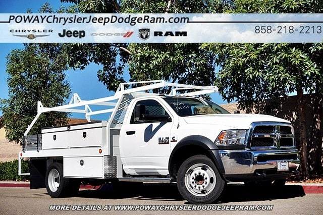 2017 Ram 5500 Regular Cab DRW 4x2,  Scelzi CTFB Contractor Body #C14859 - photo 1