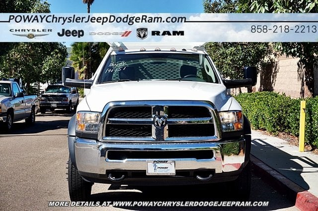2017 Ram 5500 Regular Cab DRW 4x2,  Scelzi CTFB Contractor Body #C14859 - photo 5