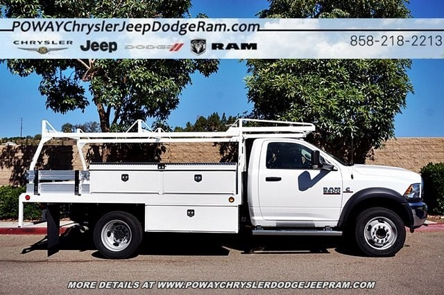 2017 Ram 5500 Regular Cab DRW 4x2,  Scelzi CTFB Contractor Body #C14859 - photo 7