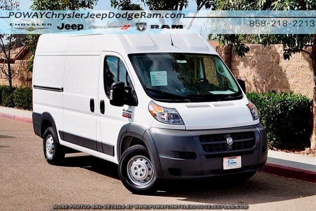 2018 ProMaster 2500 High Roof FWD,  Sortimo Upfitted Cargo Van #C15545 - photo 3