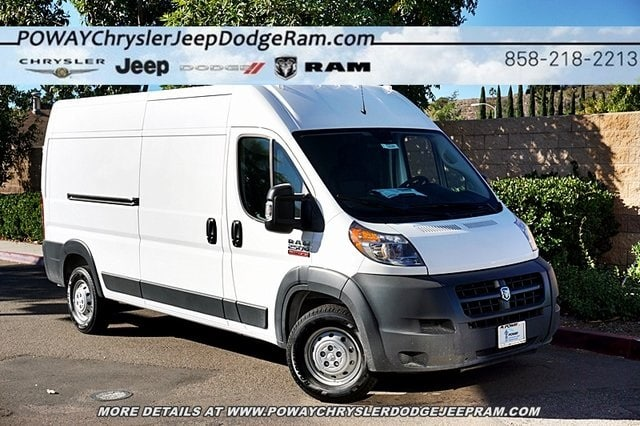 2018 ProMaster 2500 High Roof FWD,  Empty Cargo Van #C16566 - photo 3