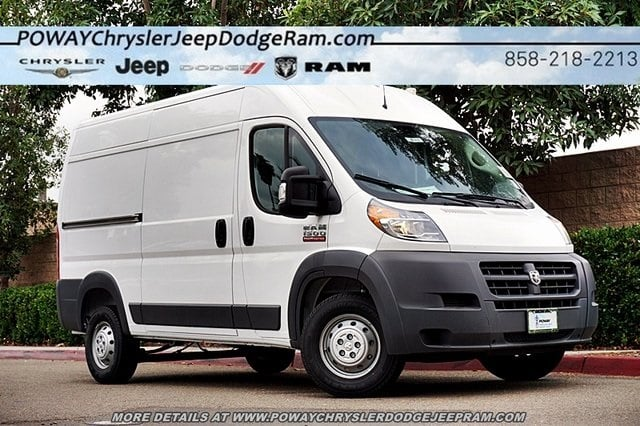 2018 ProMaster 1500 High Roof FWD,  Empty Cargo Van #CX16630 - photo 1