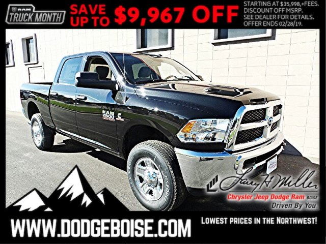 2018 Ram 2500 Crew Cab 4x4,  Pickup #R337927 - photo 1