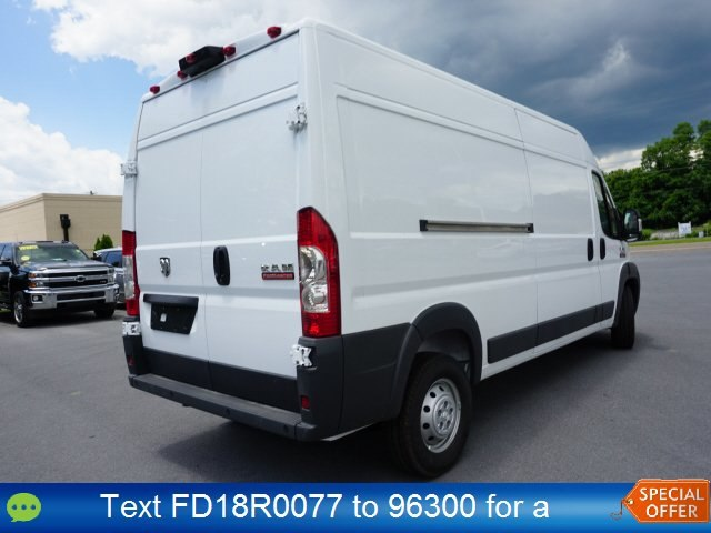 2018 ProMaster 2500 High Roof FWD,  Empty Cargo Van #18R0077 - photo 4