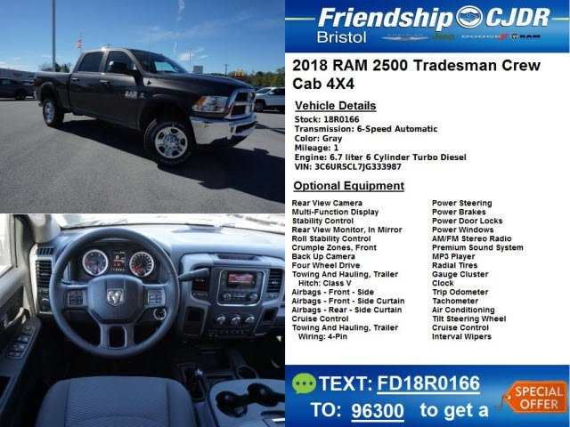 2018 Ram 2500 Crew Cab 4x4,  Pickup #18R0166 - photo 13