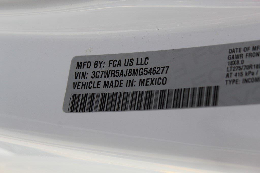 2021 Ram 2500 Regular Cab 4x4,  Reading Classic II Steel Service Body #1W9041 - photo 24