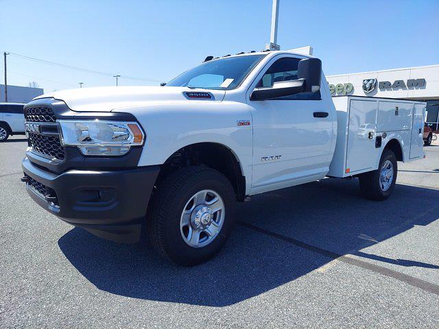 2021 Ram 3500 Regular Cab 4x4,  Warner Truck Bodies Select Pro Service Body #1451070 - photo 2