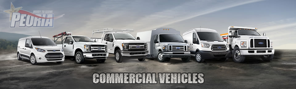 Peoria Ford Commercial Inventory
