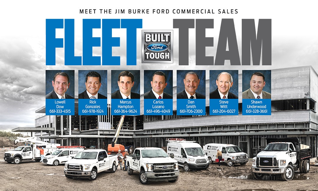Jim Burke Ford Bakersfield >> Ford Work Trucks Vans Bakersfield Ca Jim Burke Ford