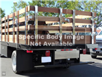 2018 LCF 5500XD Regular Cab,  Martin Truck Bodies Flat/Stake Bed #C156765 - photo 1
