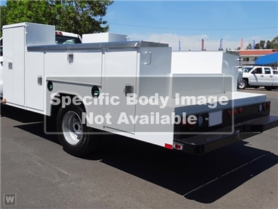 2018 Silverado 3500 Regular Cab DRW 4x2,  Ironside Welder Body #916742K - photo 1