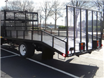2017 Low Cab Forward Crew Cab 4x2,  Womack Equipment Trailers Dovetail Landscape #F6583 - photo 1