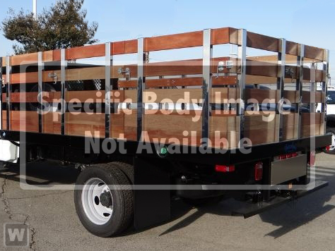 2019 Ford F-450 Regular Cab DRW RWD, Harbor Stake Bed #E196668 - photo 1