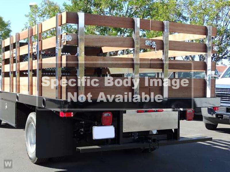 2019 Chevrolet Silverado 5500 Regular Cab DRW 4x2, Marathon Stake Bed #KH863816 - photo 1