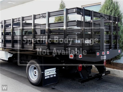 2019 Silverado 3500 Regular Cab DRW 4x4,  Knapheide Value-Master X Stake Bed #CN97545 - photo 1