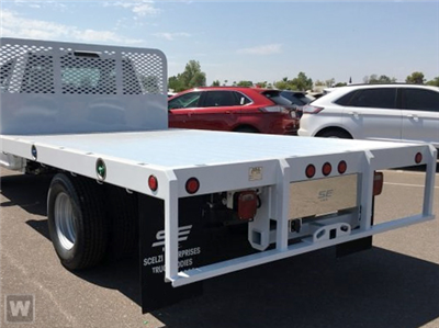 2019 F-550 Regular Cab DRW 4x2,  Scelzi WFB Flatbed #FK0636 - photo 1
