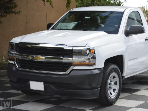 2018 Silverado 1500 Regular Cab 4x2,  Pickup #JZ343209 - photo 1