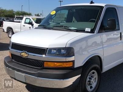 2020 Chevrolet Express 2500 RWD, Empty Cargo Van #L1241204 - photo 1
