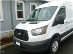 2018 Transit 250 Med Roof, Weather Guard Upfitted Van #180338 - photo 1