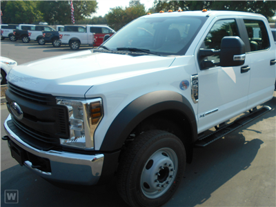 2019 Ford F-550 Crew Cab DRW 4x4, Scelzi SFB Stake Bed #F85534 - photo 1