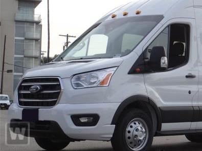 2020 Ford Transit 350 HD High Roof DRW RWD, Passenger Wagon #LKA45466 - photo 1