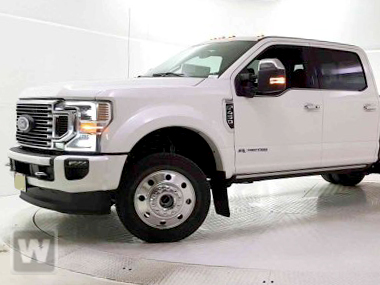 2020 Ford F-450 Crew Cab DRW 4x4, PJ's Contractor Body Platform Body #201826 - photo 1