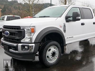 2020 Ford F-550 Crew Cab DRW 4x4, Knapheide Value-Master X Stake Bed #C57051 - photo 1