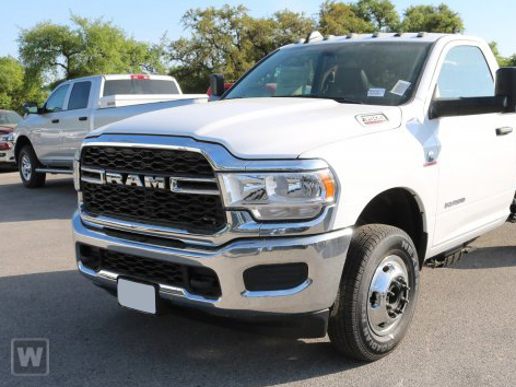 2019 Ram 3500 Regular Cab DRW 4x4, Knapheide Platform Body #D191580 - photo 1