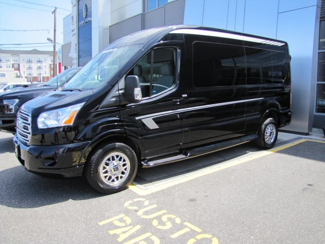 2018 Transit 250 Med Roof 4x2,  Passenger Wagon #24734 - photo 3