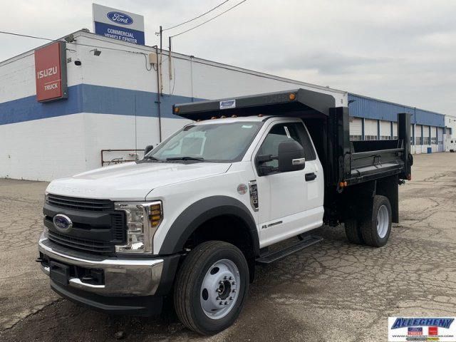 2019 Ford F-550 Regular Cab DRW 4x4, Allegheny Truck Body Dump Body #12842 - photo 1