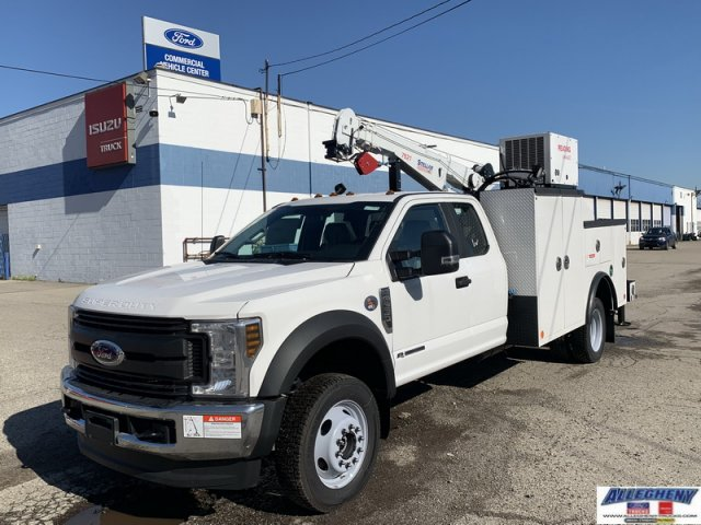2019 Ford F-550 Super Cab DRW 4x4, Reading Mechanics Body #12936 - photo 1