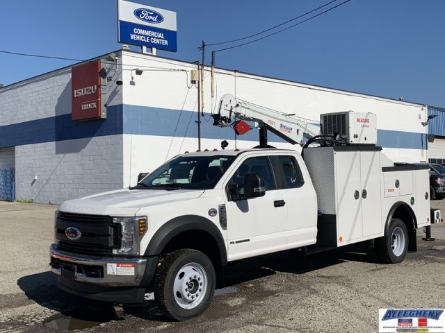 2019 Ford F-550 Super Cab DRW 4x4, Reading Mechanics Body #12938 - photo 1
