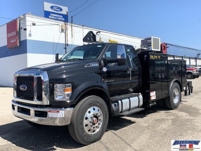 2021 Ford F-750 Super Cab DRW 4x2, Palfinger Crane Body #13081 - photo 1