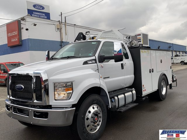 2021 Ford F-750 Super Cab DRW 4x2, Palfinger Mechanics Body #13169 - photo 1