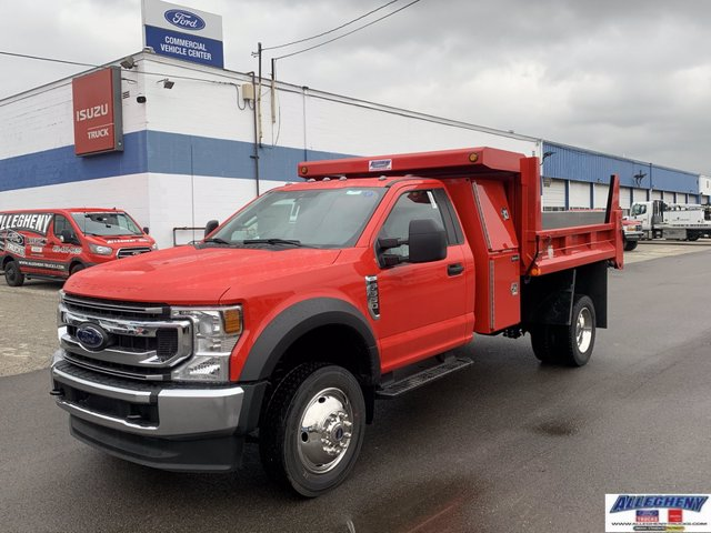 2021 Ford F-550 Regular Cab DRW 4x4, Dump Body #13325 - photo 1
