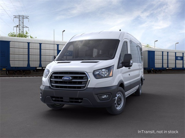 2020 Ford Transit 350 Med Roof 4x2, Passenger Wagon #02014 - photo 3
