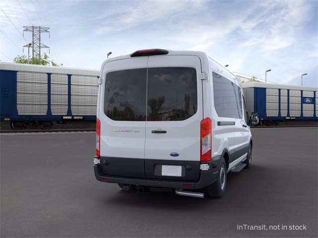 2020 Ford Transit 350 Med Roof 4x2, Passenger Wagon #02014 - photo 7