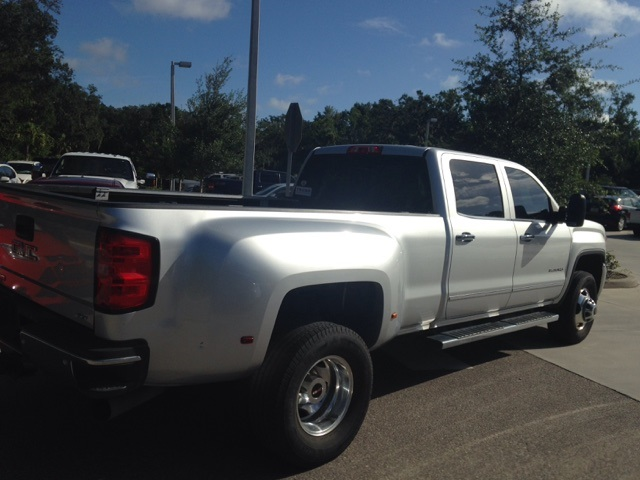 2015 Sierra 3500 Crew Cab 4x4, Pickup #116677 - photo 2