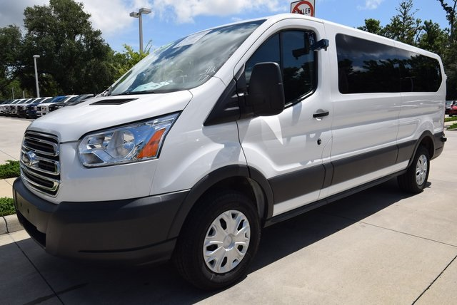 2017 Transit 350 Low Roof 4x2,  Passenger Wagon #A94930F - photo 9