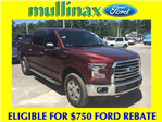2016 F-150 SuperCrew Cab 4x4, Pickup #B77173F - photo 1